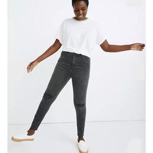 Madewell Curvy High-Rise Jeans Black Sea 28P